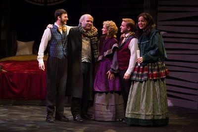 Southwest Shakespeare Company presents A Christmas Carol. Photo by Devon Christopher Adams