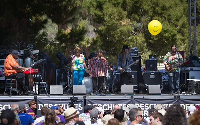 Jerry Garcia band at McDowell Mountain Music Festival in March 2013.
