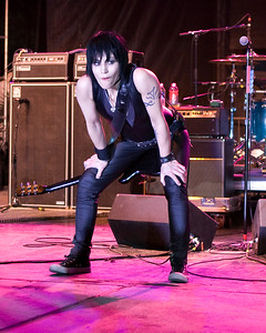 Joan Jett & the Blackhearts concert at the Phoenix Pride Festival at Steele Indian School Park north of downtown Phoenix, AZ on April 18, 2010.  In 1984 my parents bought me two things for my birthday. 1) a boombox & 2) I Love Rock N Roll on cassette.