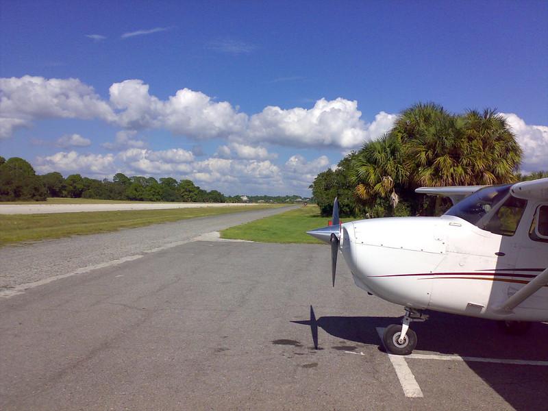 N7815D at Cedar Key
