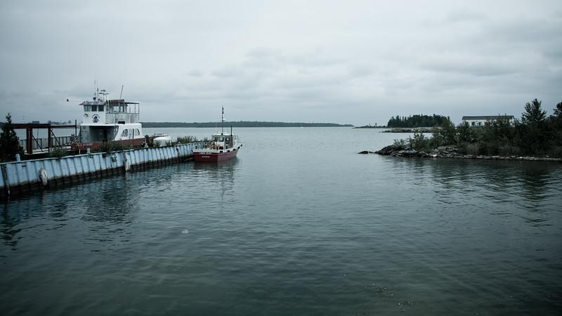 Detour Ferry Port