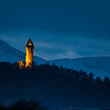 Wallace Monument at night (1)