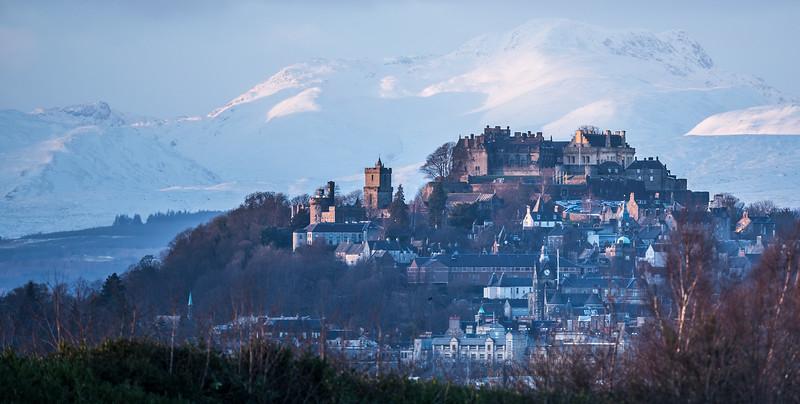Stirling Castle at dusk (1)