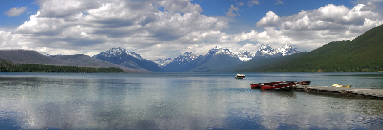 Lake McDonald in Glacier National Park. My best panorama to date.