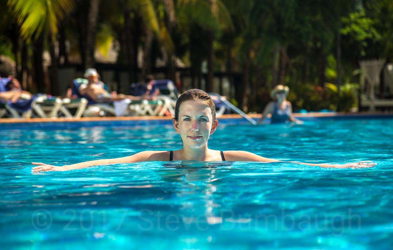Pool Portrait