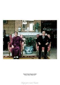 Nguyễn thị Xuyến, Nguyễn văn Ngân Antony Paris France - Nov 1981