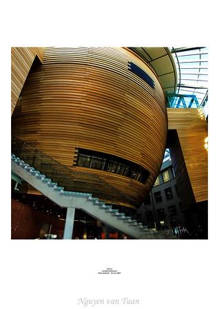 Atrium Auckland Museum New Zealand