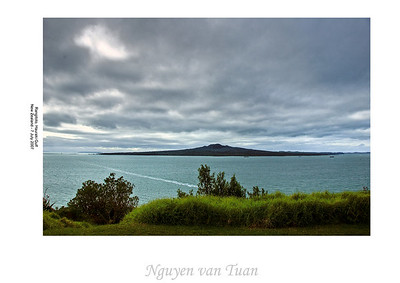 Rangitoto Hauraki Gulf New Zealand - 7 July 2007