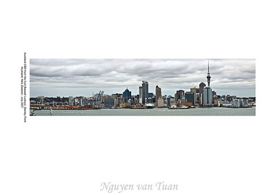 CBD waterfront Auckland New Zealand