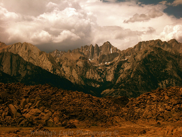 Mt. Whitney and Alabama Hills
