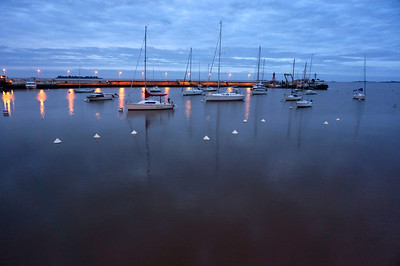 This is the harbor at Colonia del Sacramento, Uruguay. I probably shot over 50 pictures of the harbor, this one being a quick, almost obligatory shutter click of the boats. Yet it turned out to be the best and only one I kept.