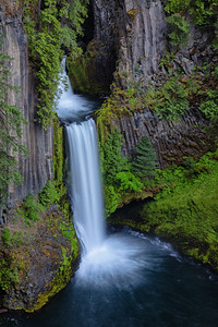 Toketee Falls, Oregon, USA