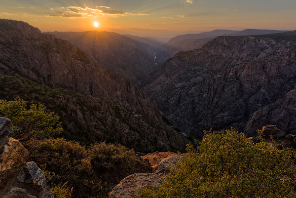 Sunset View at Black Canyon