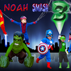Noah 3rd B-day Invite Cover