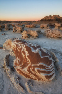 Cracked Eggs, Bisti Badlands, New Mexico