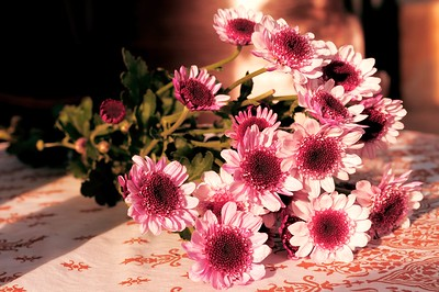 Flower Bouquet on the table