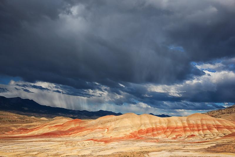 Painted Hills Storm, Oregon