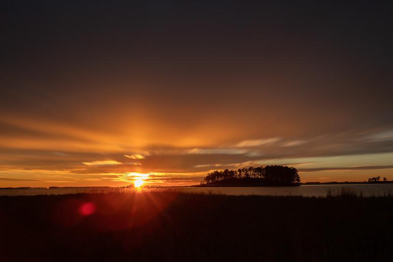 Sunrise at Blackwater National Wildlife Refuge