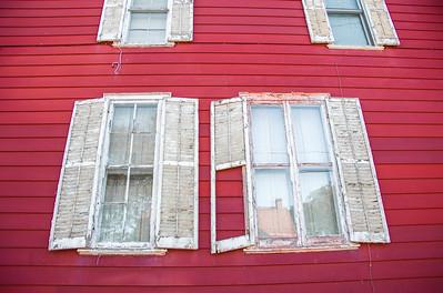 """""""Shutters,"""" Ithaca, NY, 2014."""