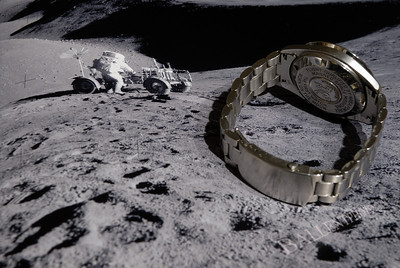 Omega Speedmaster watch.  This watch is flight certified by NASA for all manned flight.