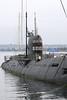 Russian B-39 electric diesel submarine