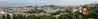 Panoramic view of Edinburgh New Town from Edinburgh Castle