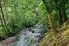 Croe Waret river at Ardgartan in Scotland