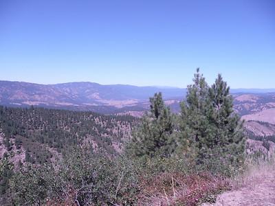Garcen Valley in the distance