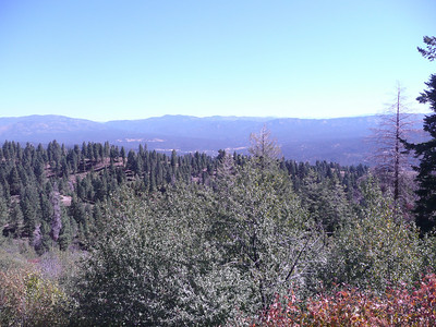 Idaho City in the distance