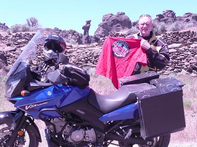 Ken @ Site 12 Little City of Rocks N43 07.146 W114 41.321 4755 ft June 26, 2010