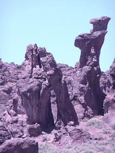 June 26, 2010 @ Site 12 Little City of Rocks N43 07.146 W114 41.321 4755 ft