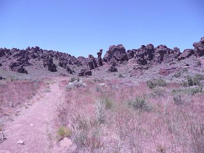 June 26, 2010 Sherry @ Site 12 Little City of Rocks N43 07.146 W114 41.321 4755 ft