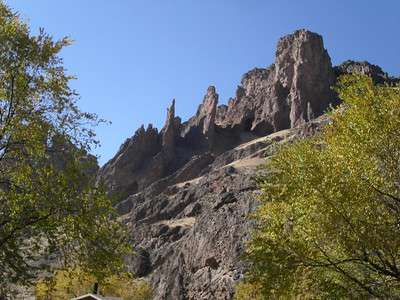 Succor Creek pinnacles