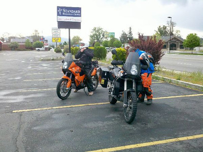 Who is the man in the helmet? Why it is Ricky (riding buddy #1)