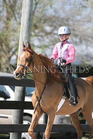 25 Academy saddleseat equitation 8 & under wt