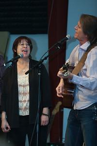 Tara Sitser with John Zipperer  - Folktacular 2013