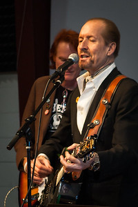 From left: Wes Dildine and Clive Kennedy - Folktacular 2013