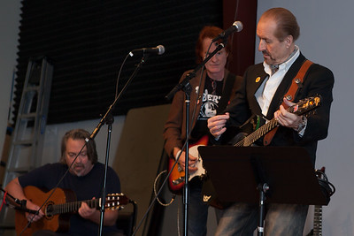 From left: John O'Kennedy, Wes Dildine and Clive Kennedy - Folktacular 2013