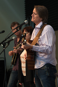 From left: Barrett Tagliarino, Tara Sitser and John Zipperer - Folktacular 2013