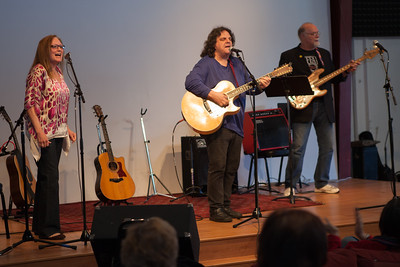 John M with Elise Birdsall and Chad Watson - Folktacular 2013