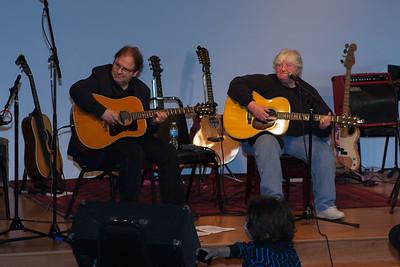 Sandy Ross with Jeff Gold - Folktacular 2013