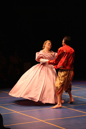 King and I Dress Rehearsal