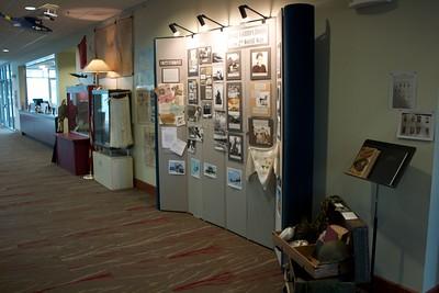 WWII Memorabilia Display