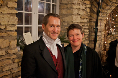 Doug Scholz-Carlson, Associate Producing Director of the Great River Shakespeare Festival in Winona, and his wife Miriam