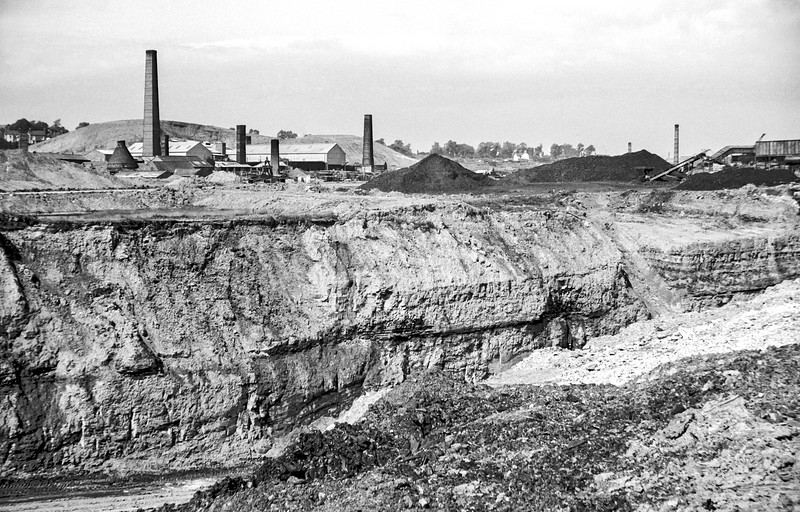 Albert Village, South Derbyshire colliery town, 1969