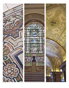 "The St Louis Public Library (Central) - ""Rhythms of the City"" show at St Louis Artist Guild - Nov to Dec 2011"