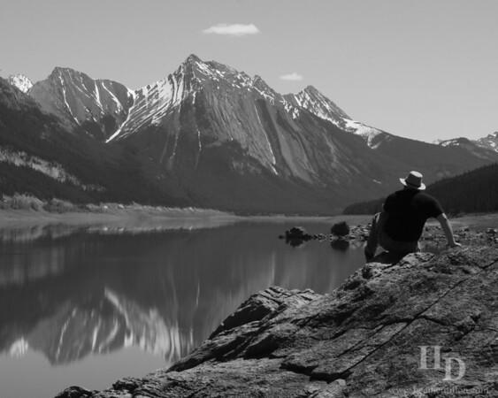 Medicine Lake, Jasper