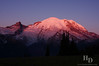 Sunrise at Mt. Rainier