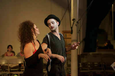 Flying Nut 2012 dress rehearsal