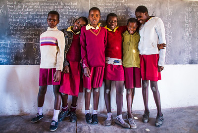 School Girls   (Zimbabwe)